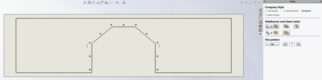 solidworks sheet metal flat pattern