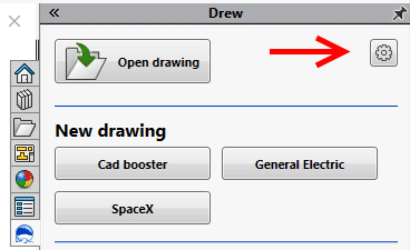 SolidWorks drawing settings