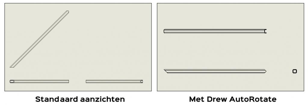 solidworks weldment aanzicht rotatie