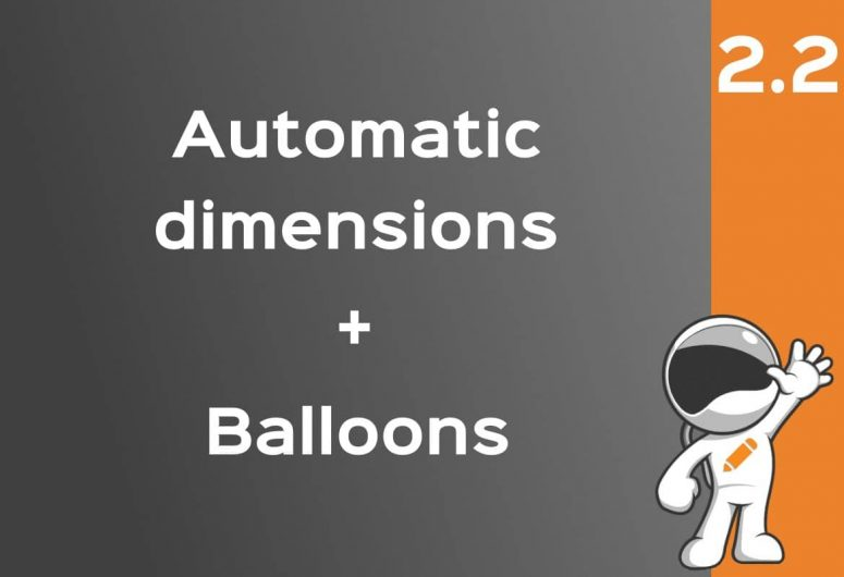solidworks automatic dimensions balloons