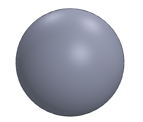 silhouette edges solidworks sphere