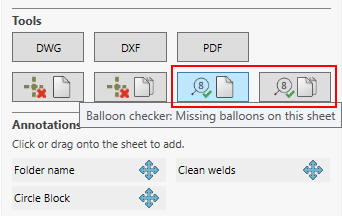 Drew find missing balloons in drawing