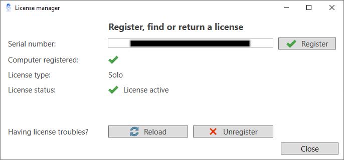 Drew solo license