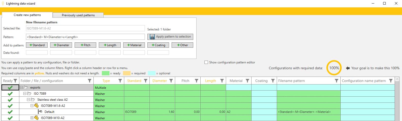 lightning solidworks fasteners database