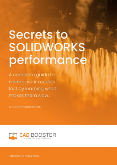 solidworks performance - fixing slow models